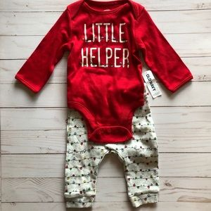 Old Navy Girls Red Little Helper Heart Lights Set